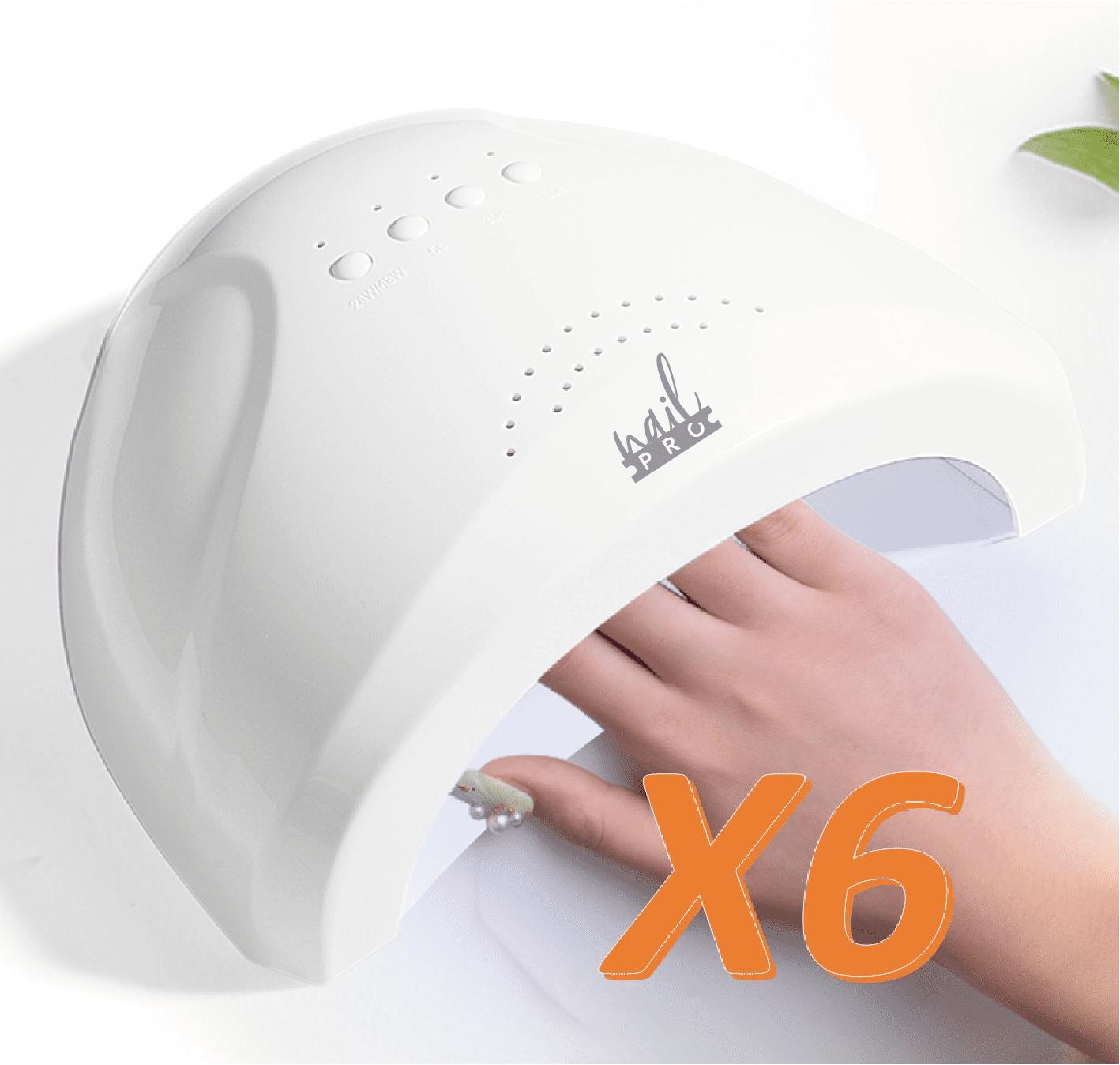 6 Lámparas Nail Pro al por mayor