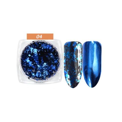 FLAKES ESPEJO 04 BLUE