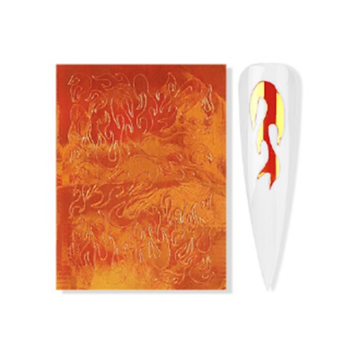 STICKER FLAME 12