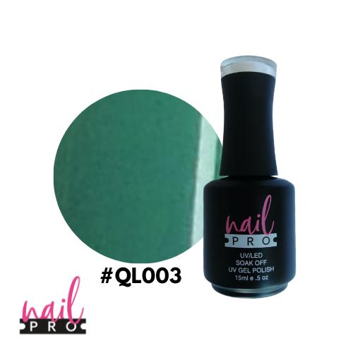 NAIL PRO Esmalte Permanente QL003 Verde