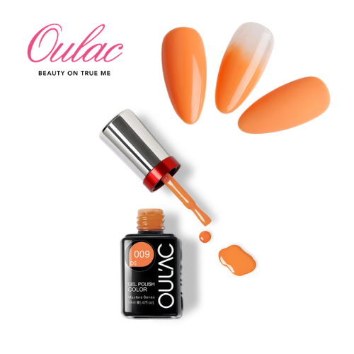 OUL'AC MASTER Esmalte Permanente DS009 Naranjo Pastel
