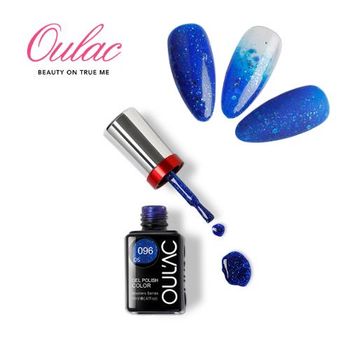 OUL'AC MASTER Esmalte Permanente DS096 Glitter Azul