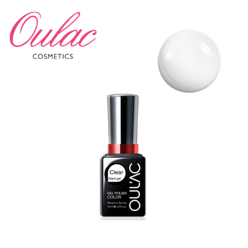 OULAC Esmalte Permanente Hard Gel Clear