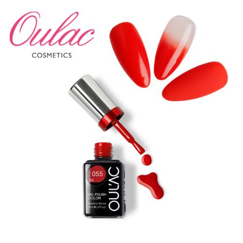 OULAC MASTER Esmalte Permanente DS055 Rojo Intenso