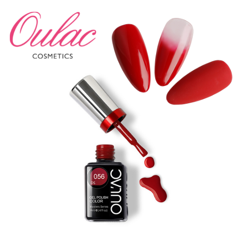 OULAC MASTER Esmalte Permanente DS056 Rojo Clásico
