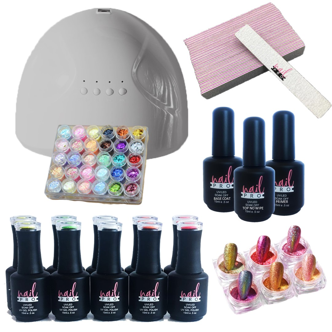 Pack Nail Art 10 Colores