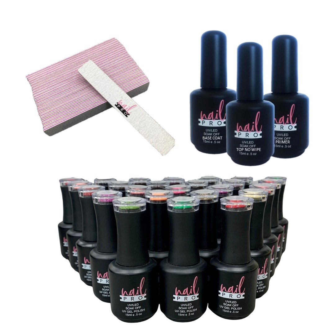 Pack Nail Pro 25 colores