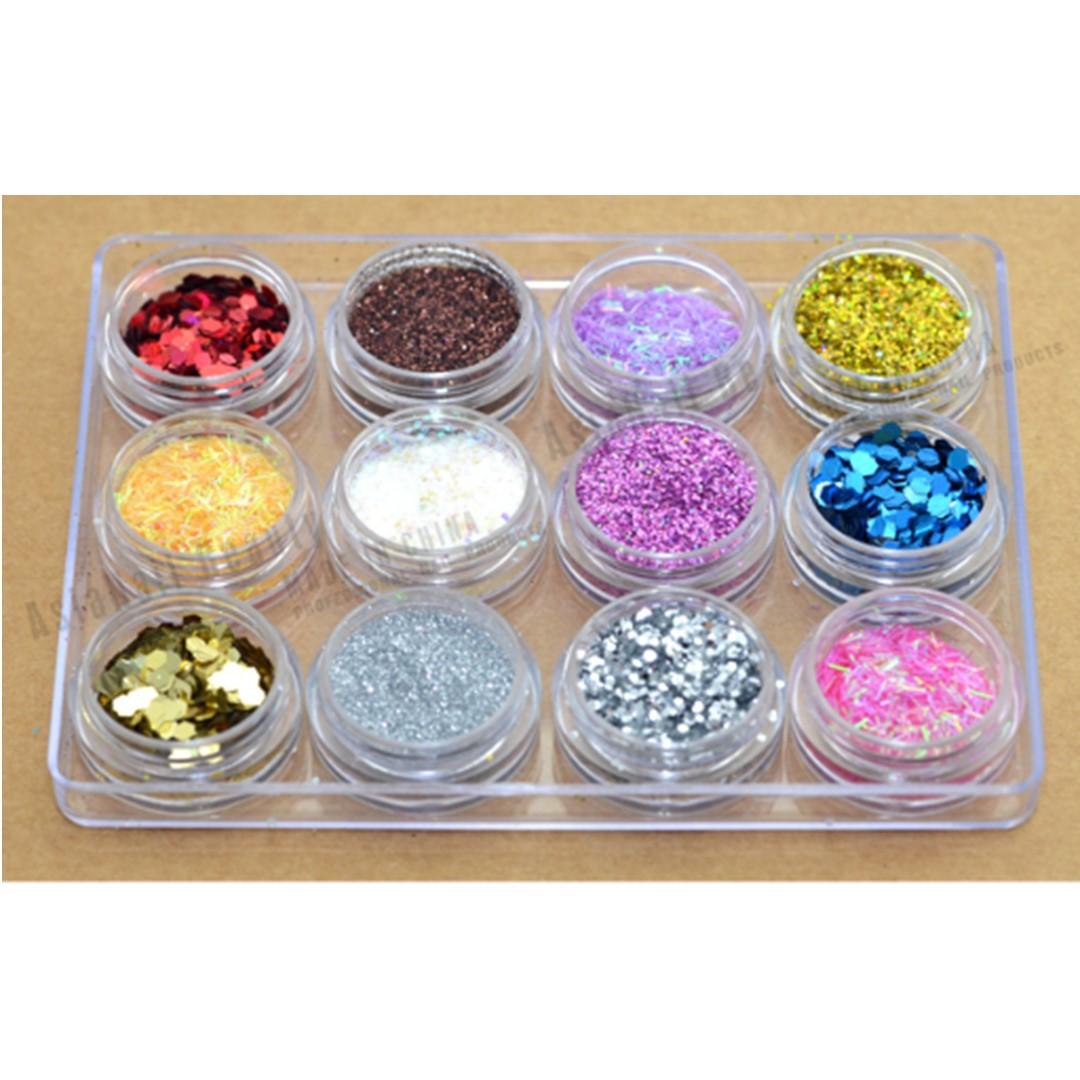 Set de 12 Glitter #4